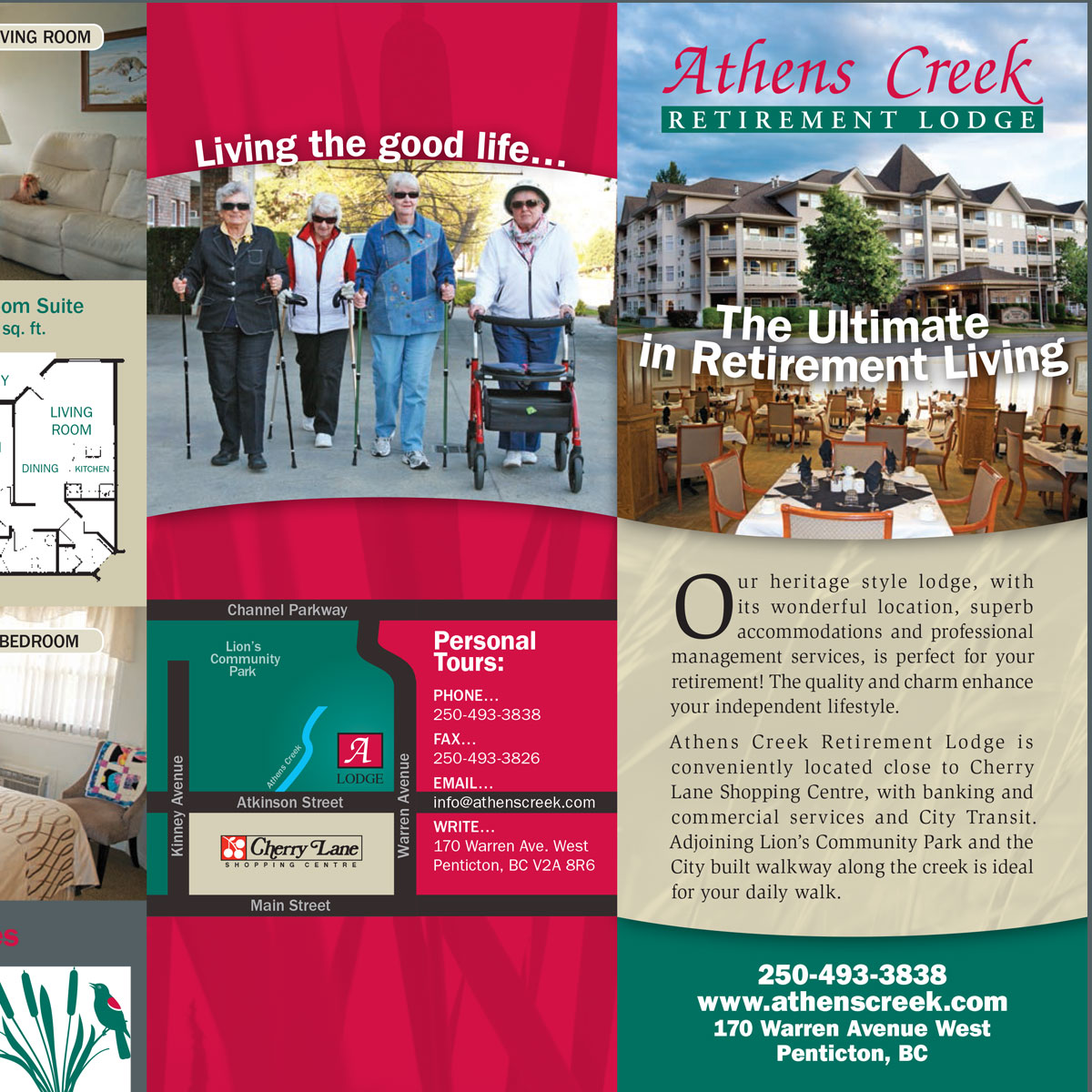 Athens Creek brochure 1