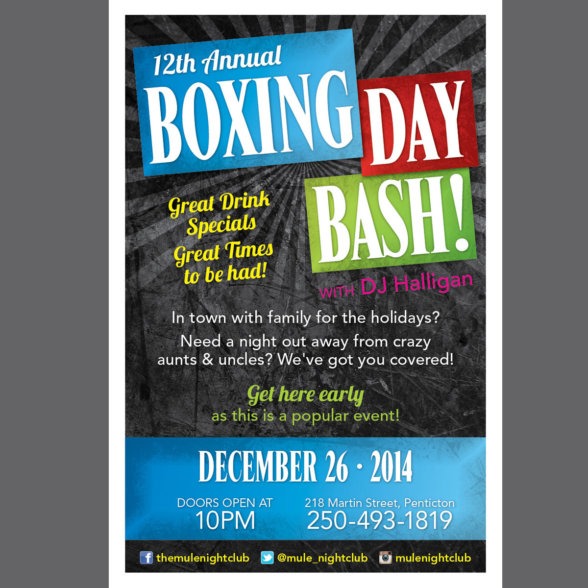 Boxing Day poster
