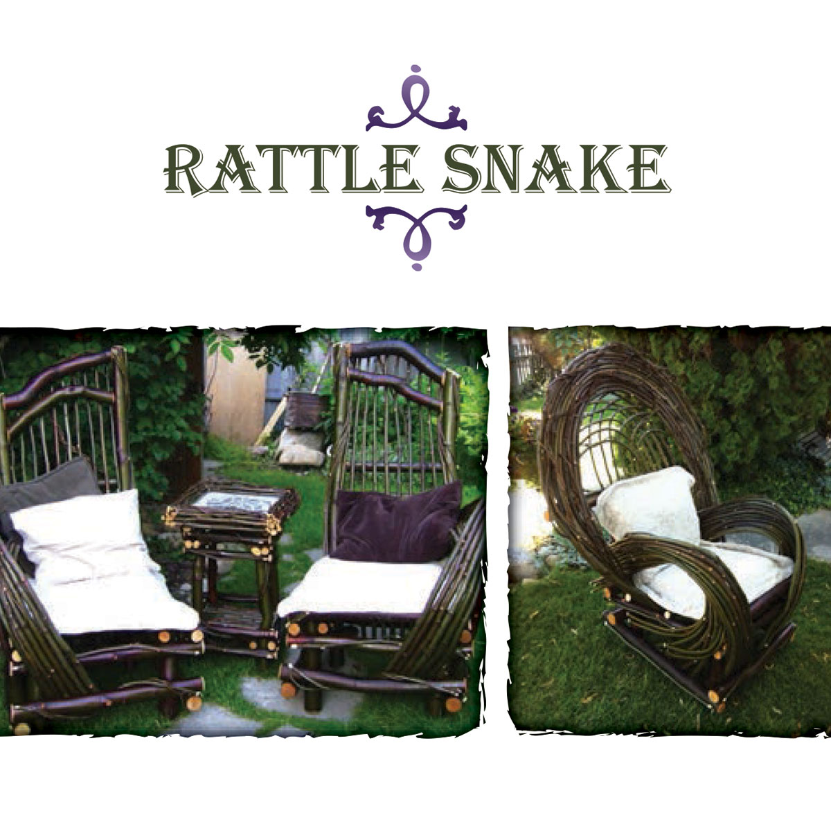 Rattle Snake Furniture care card