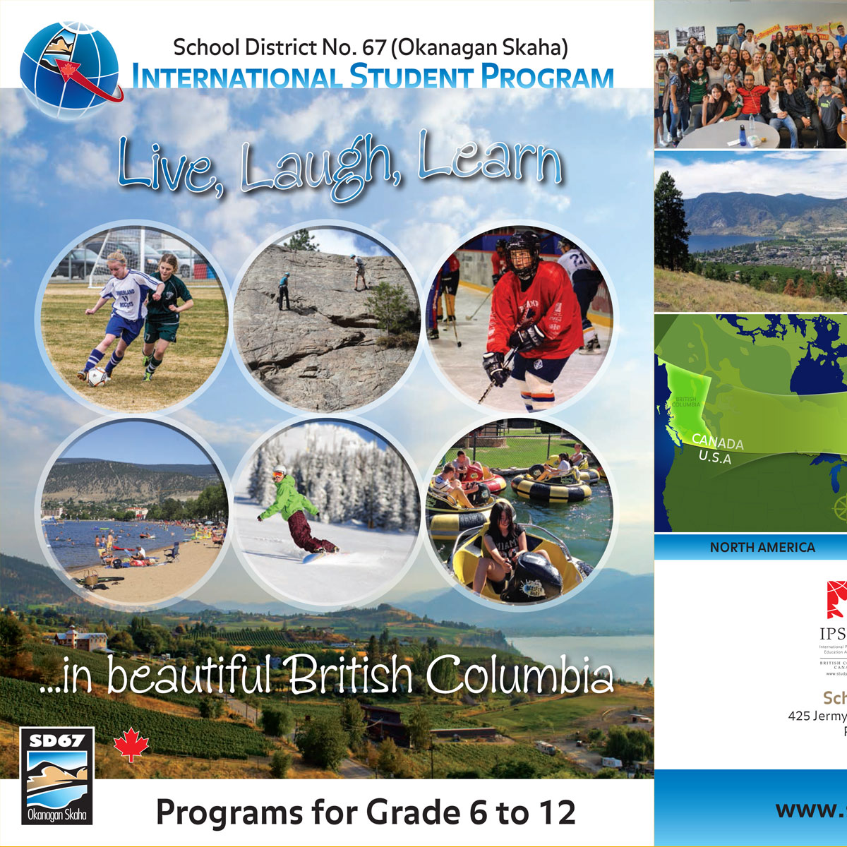 School District 67 International Students brochure 3